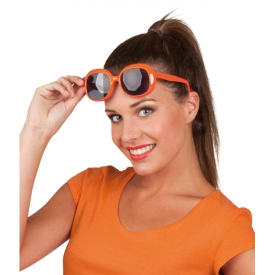 894d310b049889 Oranje bril met vierkante glazen voor maar € 4.95 bij Viavoordeel
